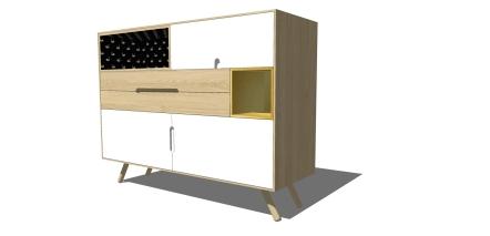 modern contemporary dining unit 2